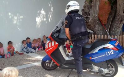 Educación Vial en escuelas infantiles de Navalcarnero – 2018